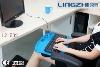 LZ-502 plastic lap tray