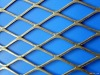 Galvanized diamond pattern expanded sheet metal