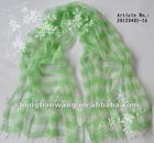40%silk 60%wool blend scarf
