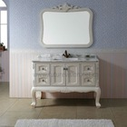 2012 Hot Sale Solid Wood Oak European Antique Bathroom Furniture Set 404B