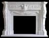 granite fireplace mantel