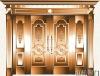 metal door,