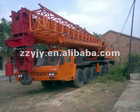 high efficiency 120t Japan KATO mobile hydraulic lorry truck crane