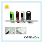 Mini ipad solar auto charger portable battery powered outlet