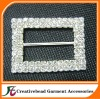 Fshion Double Rows Rhinestone Ribbon Buckles Slider