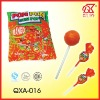 21g Mango Flavour Twist Bubble Gum Lollipop Supplier