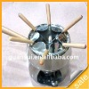 stainless steel fondue set / fondue pot