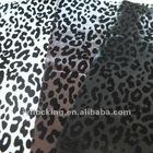 29 design flock on pu leather fabric
