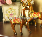 2012 fashionable newest polyresin deer statue B-L-0001