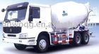 6x4 Sinotruk Concrete Mixer 7-16M3 Optional Color Super Chasis