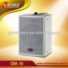 Professional coaxial audio conference system