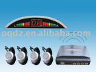 2012 hot selling VFD wireless display parking sensor system,wireless parking sensor
