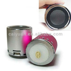rechargeable tf card usb speaker