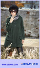 DSW043 new collection lady's flannel hooded coat