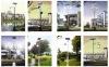 Solar Courtyard lamps