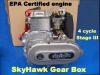 Motorized bicycle SkyHawk Stage III 49cc 4 cycle gas engine kit