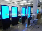 "55"" Slim design kiosk lcd display"