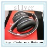 2012 Hotselling Noise Cancelling Headphones S tudio Headphones Sound Cancelling silver