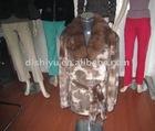 lady's mink fashionable coat