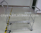 YES-Trolley-1 stainless steel trolley goods in stock