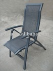 sling folding aluminum mesh outdoor chairs