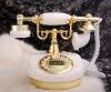 antique natural jade telephone set
