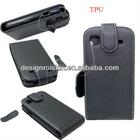 leather case for samsung i9008 flip case
