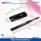 Hot sale wirekess wifi Ralink 3070 chipest 802.11 b/g/n high power usb wifi adapter antenna for desktop /laptop
