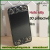 pe protective film for iphone 4 4s with hello kitty pattern