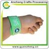 New fashion slap & snap silicone rubber bands bracelets AC98689