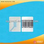 EAS RF 8.2Mhz checkpoint soft label ,high sensitive eas soft label(EY-R404)