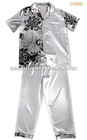 Polyester Satin Men's Sleepwear