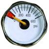 Mini. Pressure Gauge CBM- Centre Back Mount, Steel Case