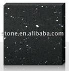 Black Quartz Stone (Quartz Solid Surface, Engineered Quartz Stone)