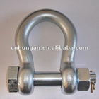 Safety Bolt Anchor Shackle safety pin shackle