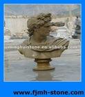 Man Head Sculpture