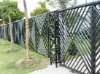 Small garden wrought iron safety fence parts