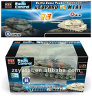 radio control (R/C )model tank, 1/35 R/C Battle Game Tanks:Leopard II VS M1A1