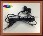 High quality hot selling design flat cord earphone in ear earphone