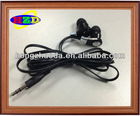 High quality hot selling design flat cord earphone in ear earphone