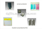 Custom cut screen protectors; protective film for cell phone/tablets/TV and etc.; Cell phone parts/computer parts