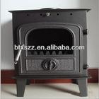 cast iron indoor fireplace