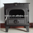 cast iron indoor fireplace