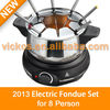 Stainless Steel Electric Fondue Set