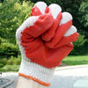 high protection latex coated glove construction gloves