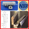 V track guide rail for W2 type bearing