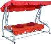deluxe outdoor swing bed