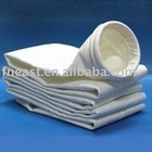 Polyester nonwoven fabric filter material