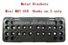 "Dental Orthodontic Metal Brackets Mini MBT .018"""