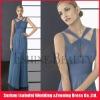 2012 Fashion Design ! Sexy Floor-Length Sheath Elegant Straps Chiffon V-neckline Party Dresses For Women !